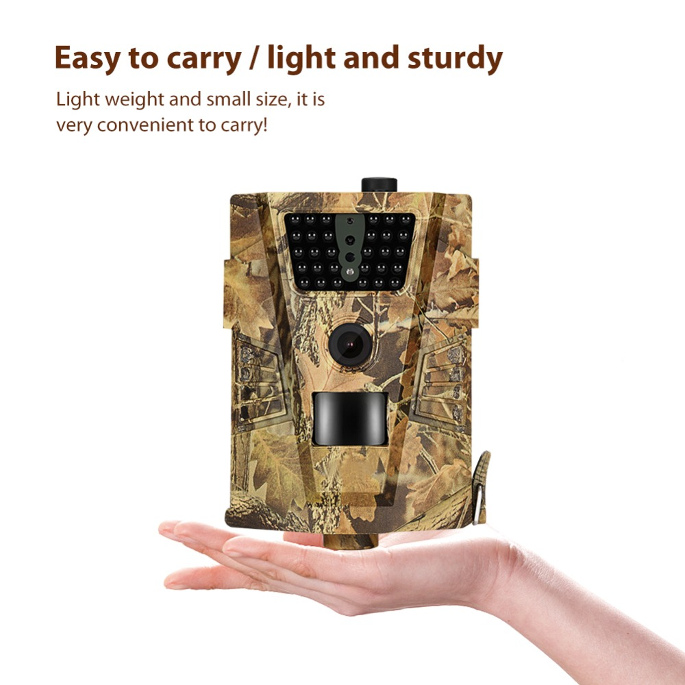 Wireless Wildlife Trail Basic  Hunting Camera HT001B 12MP 1080P Night Vision Wild Surveillance Photo Traps Cameras