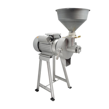 Household Grain Grinder Soybean Milk Machine Commercial Pulp Mill Maker Peanut Butter Corn Grinding Milling Machine 220v 40kg h commercial soybean juicer grinding machine kitchen blender household grain grinder automatic separated soy milk make