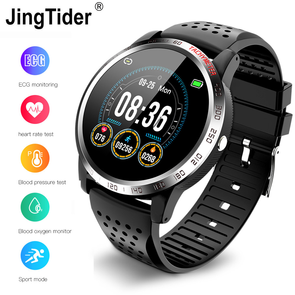 W3 ECG+HRV+SPO2 Smart Watch IP67 Waterproof Lorenz Diagram Heart Rate Blood Pressure Oxygen Monitor 1.3