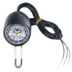 E-bike Led Light 36V 48V 12W tarkawodoodpornal z klaksonem i przełącznikiem