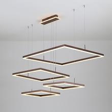 Brown/Gold Creative Modern chandelier For Dining room bedroom Living lights led lighting luminaire suspension