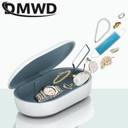 DMWD UV Sterilizer Toothbrush Underwear Mobile phone Ultraviolet Sanitizer Mini Disinfector USB Aroma Diffuser Incense Box