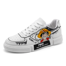 Casual comfortable wear-resistant One Piece couple shoes low-top sneakers white shoes 2021