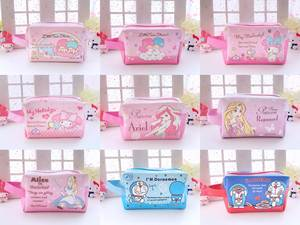 Cosmetic-Bags Handbag Alice Gifts Melody Twin-Stars Girls Little Princess Japan Cartoon