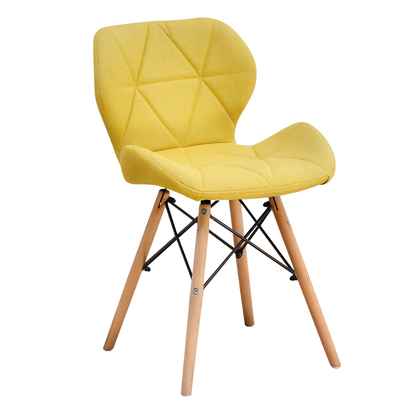 H1 Nordic Chair Modern Simple Home Ins INS Stool Back Makeup Desk Chair Butterfly Dining Chair  Modern Chair  Design Chair