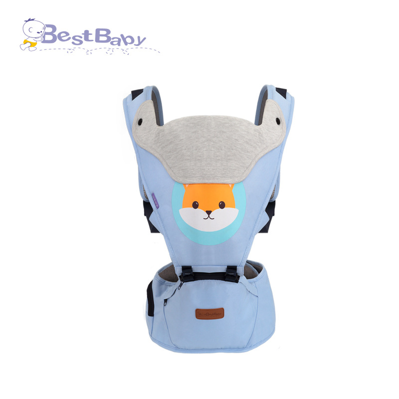 Children's Baby Carrier Multi-functional Before Holding Style Four Seasons General Summer Lightweight Breathable Baby Waist Stoo