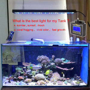 "Image 2 - PopBloom Led Light Aquarium Reef Aquarium Light Reef Light Aquarium for 36""/90 cm Reef Coral Marine Fish Tank Turing75"