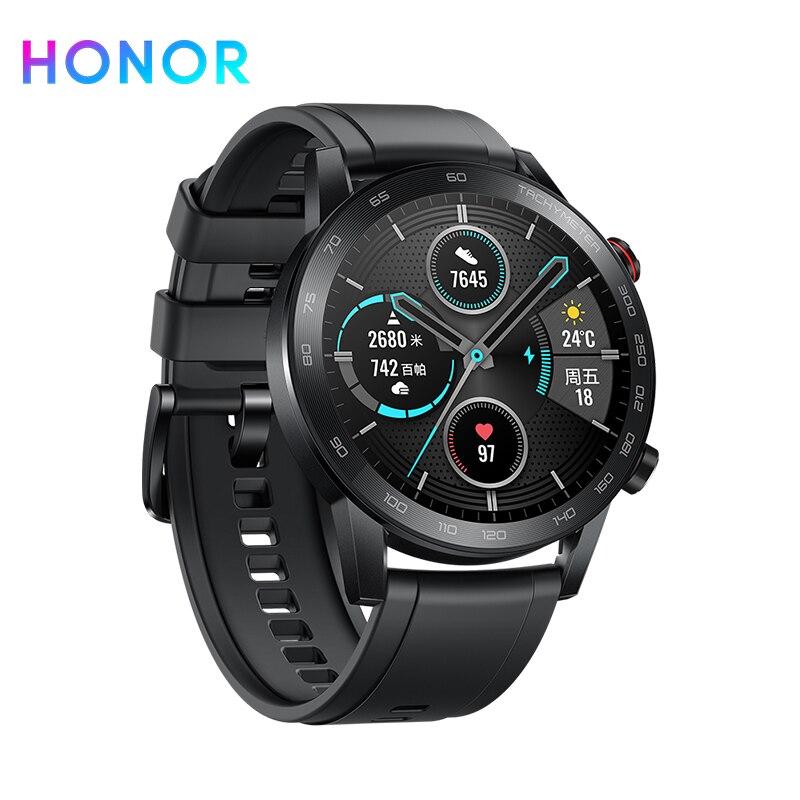 Смарт-часы Honor Magic Watch 2, Bluetooth 5,1, пульсометр, 14 дней телефонных звонков, водонепроницаемые, magicwatch 2 для Android iOS