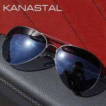 Pilot Sunglasses Retro Men Polarized Aviation Sungl