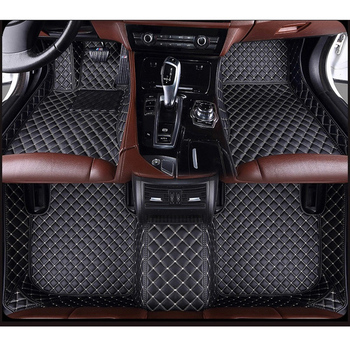 ZRCGL universal Car floor mat for Ssangyong All Models Rexton Korando Rodius ActYon kyron car styling auto accessories