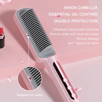 Professional Hot Combs Hair Straightener Anti-scalding Hair Straightening Brush Wet Dry Use Brush Comb Ceramic Hair Curler Tool 6