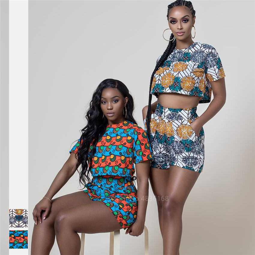 Fashion Ladies Clothes Dashiki Print 2020 News African Dresses for Women Ankara Style Bazin African Top Pants Plus Cothing Party
