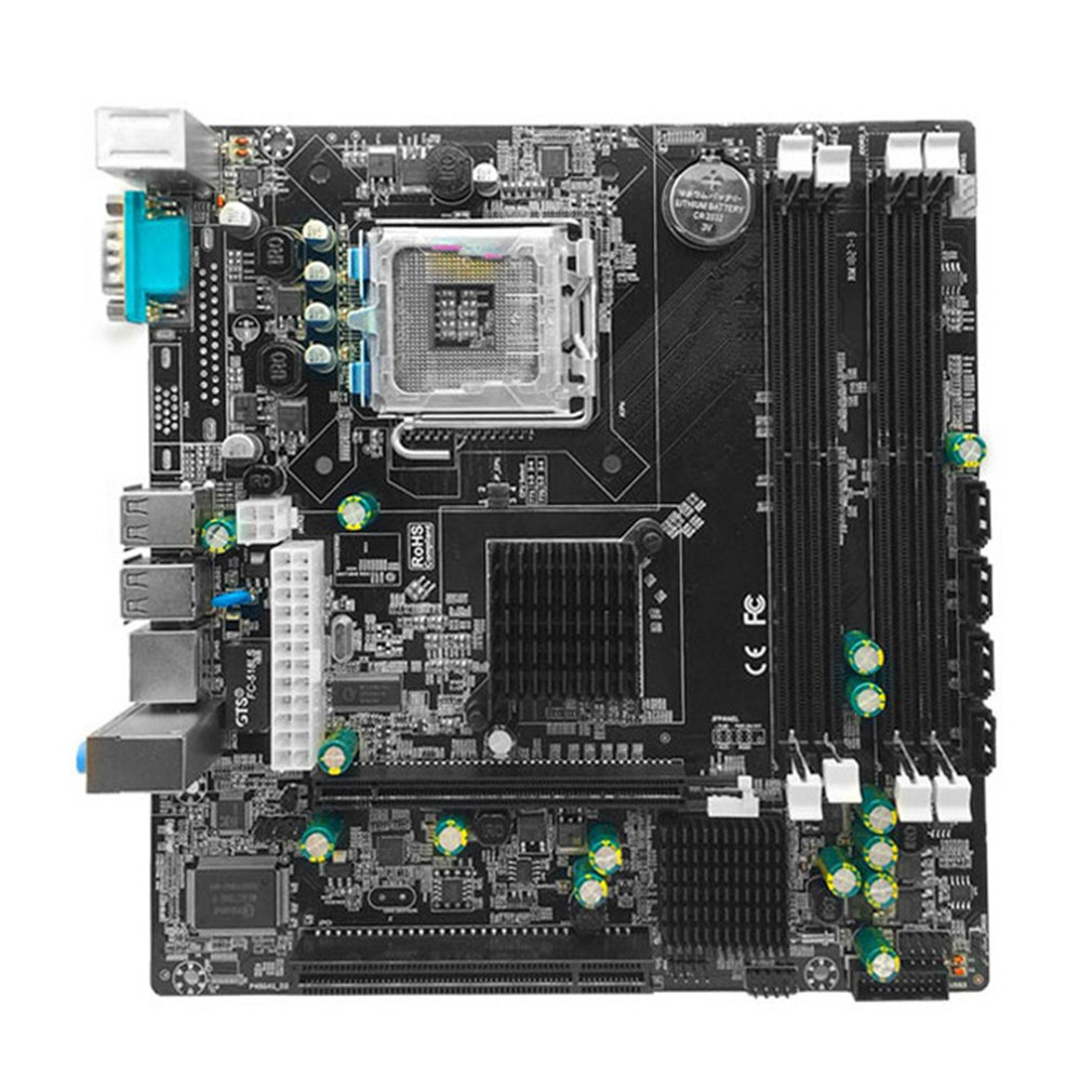 P45 Desktop Motherboard Mainboard LGA 771 LGA 775 Dual Board DDR3 Support L5420 DDR3 USB Sound Network Card SATA IDE