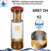 Copo do gerador da água h2 e mretoh 7.8 hz ressonância molecular transmissão sem fio spe hidrogênio e oxigênio separação copo Filtros de água     -
