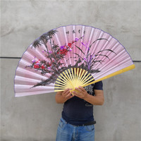 1.1 M * 0.63 M Rijst Opknoping Fan Super Hang Muur Fan Decoratie Sensu Vouwen Fan Technologie Fan Cos Prop fan Decoratie Fan