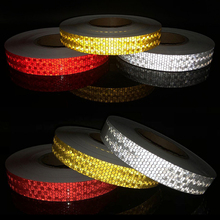 Adhesive-Tape Bike-Stickers Bicycle-Accessories Reflective for Safety White Red Yellow