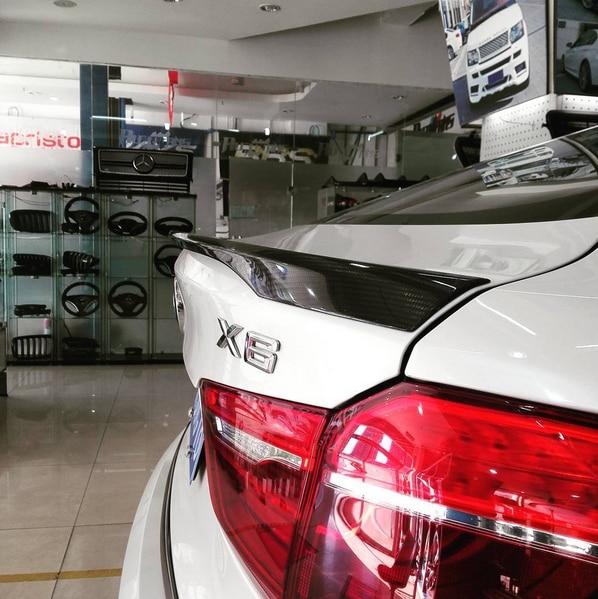 15-16 Φιγούρες οπτικών ινών X6 F16 πίσω σπορ μπούκλες για στυλ BMW X6 F16 MP