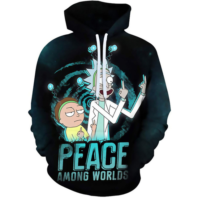 Rick And Morty Hoodie Sweatshirts 2