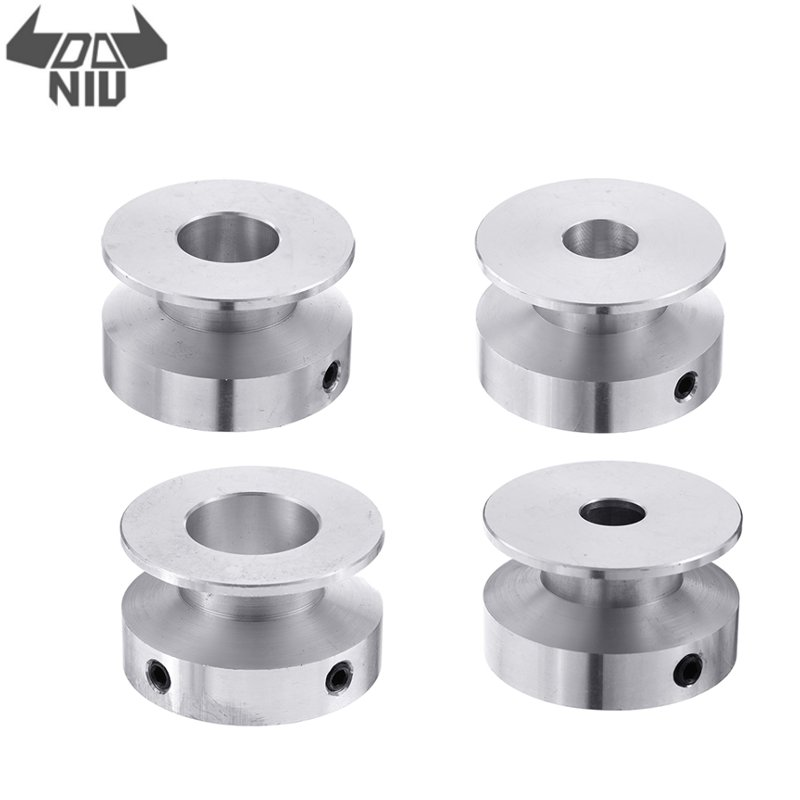 15//20//25//30mm Stainless Steel Single Sheave Wheel Fixed Pulley Lifting 1pc