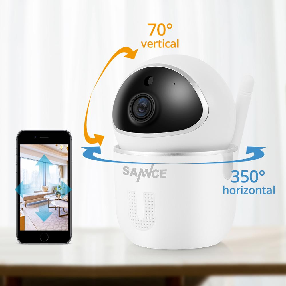 Image 2 - SANNCE Home Security IP Camera Wi Fi Wireless Mini Network Camera Surveillance Wifi 1080P Night Vision CCTV Camera Baby Monitor-in Surveillance Cameras from Security & Protection