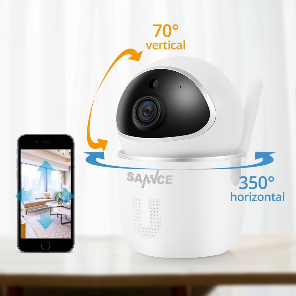 SANNCE Cámara IP de seguridad para el hogar Wi-Fi Mini cámara de - Seguridad y protección - foto 2