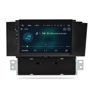 Image 5 - Autoradio multimédia android 10.0, IPS, 4 go RAM, DVD, Navigation GPS, WIFI, lecteur stéréo, unité centrale pour voiture citroën C4, C4L, DS4 (2011 2016)