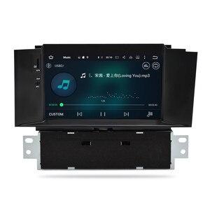 Image 5 - IPS 4G RAM Android10.0 araba radyo DVD GPS navigasyon multimedya oynatıcı Citroen C4 C4L DS4 2011 2016 WIFI otomatik ana ünite Stereo