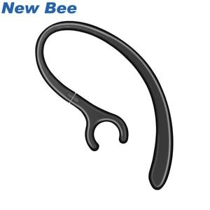 Image 1 - New Bee Headphone Hooks Black and White 12PCS For Ear hooks Earphone Headset hook