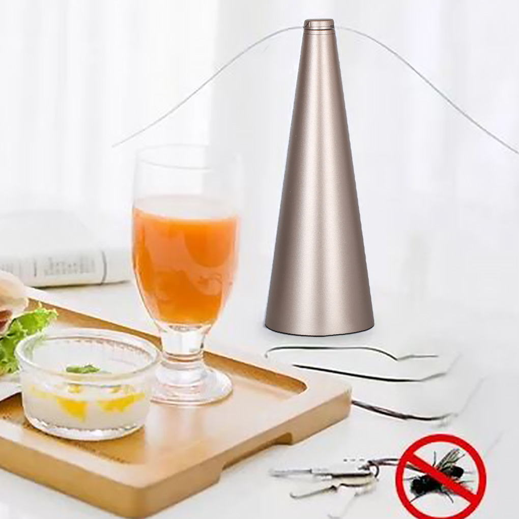 Fly Repellent Fan Low Noise Insect Swatting Fan Flying Bugs Plastic Electric Swatter Keeps Flies And Insects Away From Your Food