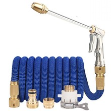 Expandable Magic Hose Pipe High Pressure Car Wash Hose  Adjustable Spray Flexible Home Garden Watering Hose Cleaning Water Gun
