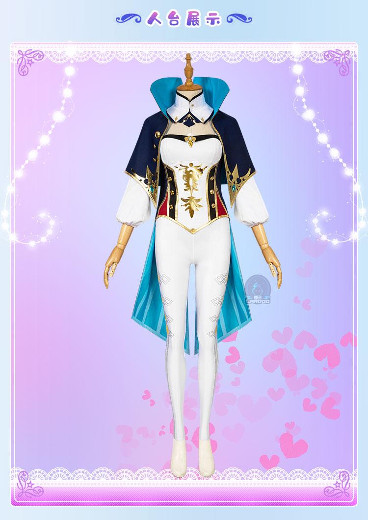 Genshin impacto jean cosplay traje trajes de halloween conjunto completo