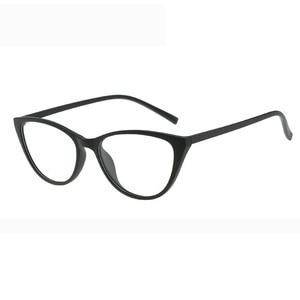 Image 1 - משקפיים מסגרת משקפיים נשים חתול משקפי פלסטיק טיטניום נשים נשים מעבר משקפיים אופנה אביזרי 2018