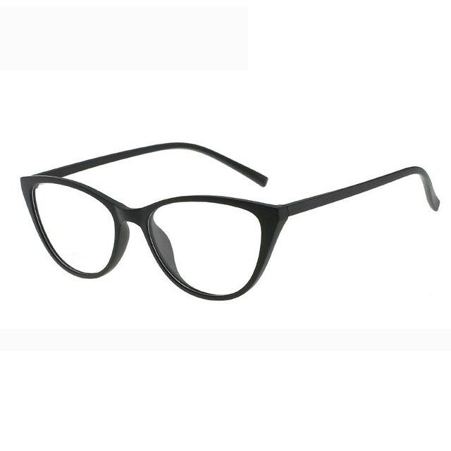 משקפיים מסגרת משקפיים נשים חתול משקפי פלסטיק טיטניום נשים נשים מעבר משקפיים אופנה אביזרי 2018