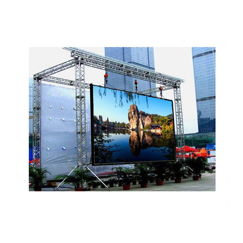 P3 HD LED Pantalla Panel 576*576mm Die Casting Aluminum Cabinet Rental LED Display Screen For Outdoor Building Advertising