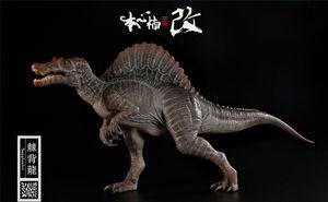 Image 5 - Stokta var! Nanmu stüdyo 1/35 ölçekli Spinosaurus Supplanter Jurassic gerçekçi dinozor aksiyon figürü PVC Model oyuncaklar toplayıcı