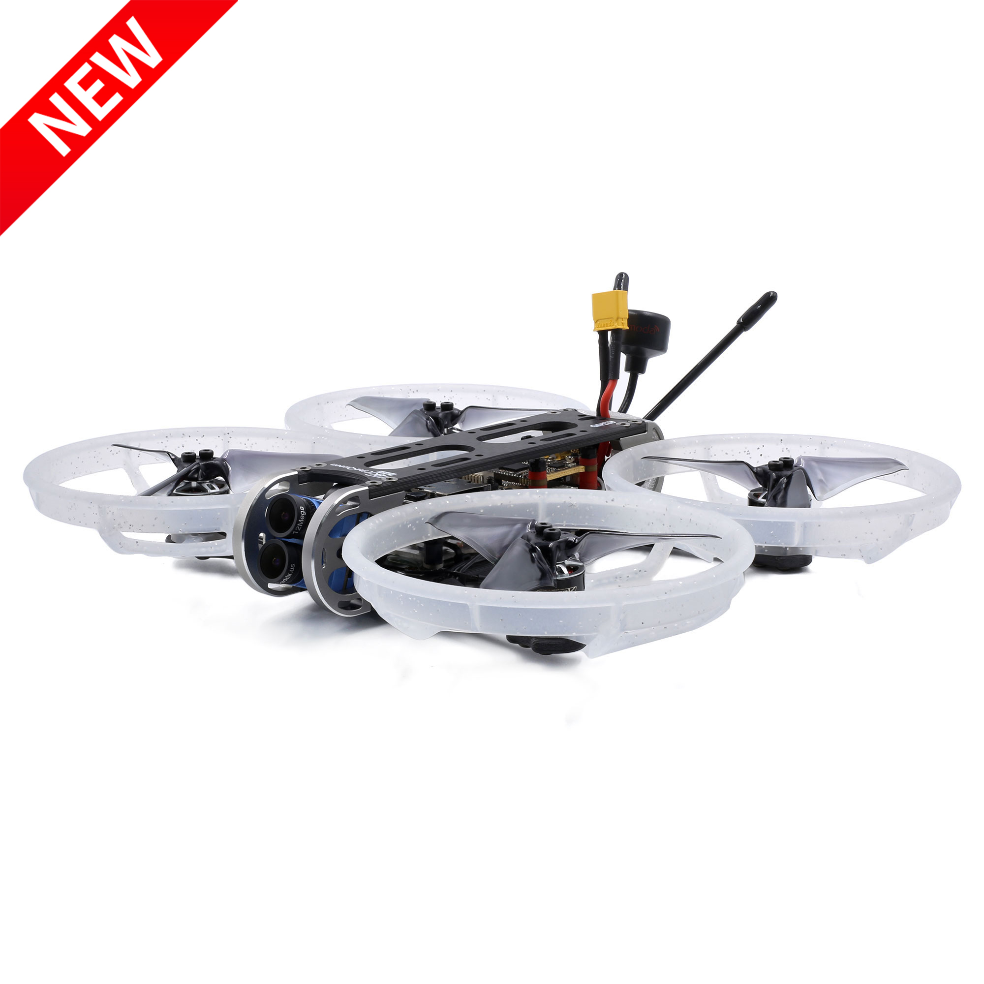 New Arrival GEPRC CineQueen 4K Caddx Tarsier V2 Camera 3 Inch CineWhoop STABLE V2 F4 30A 1206 3600KV Motor for FPV Racing Drone