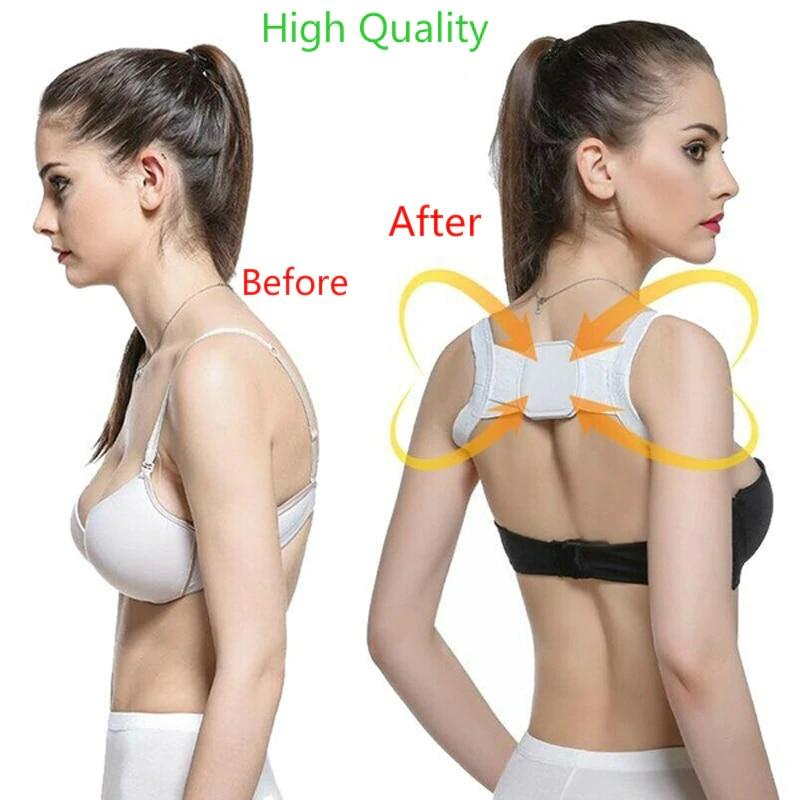 Corretor de postura para as costas, cinto corretor para clavícula, ombro reto, cinta de cinta com velcro para criança adulta, venda imperdível