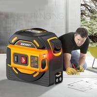 40m/60m Laser Distance Meter Rangefinder Distance Measure Tape Laser Meter Self Locking Hand Tester Tool Device Range Finder