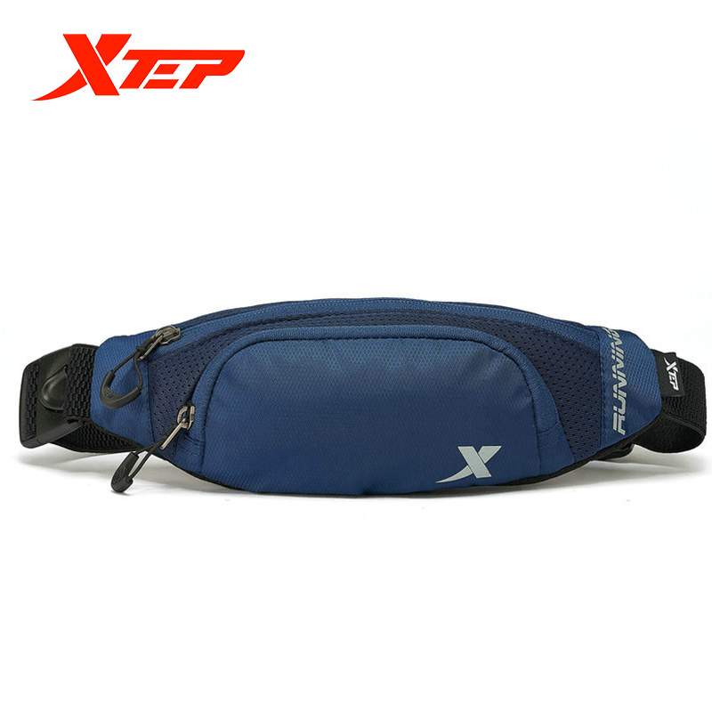 Xtep Pocket Men And Women Waist Pack 2019 Autumn Light Portable With Comfortable Brand Genuine Sports Running Bag 881237149006