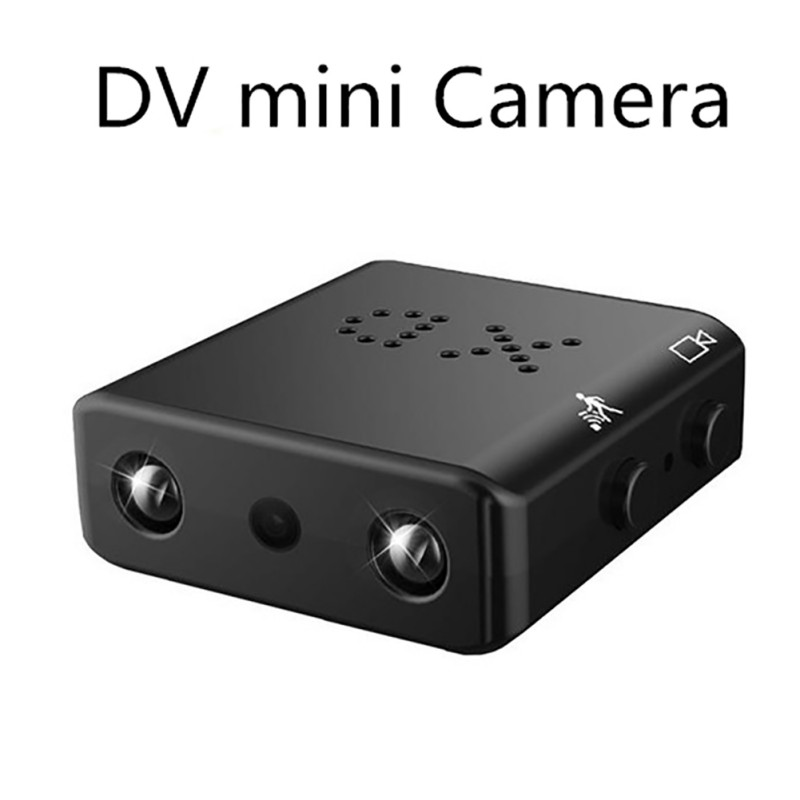 Mini Camera XD 1080P HD Mini Camcorder Night Vision Micro Camera Motion Detection Video Voice Recorder DV Version 32GB SD Card