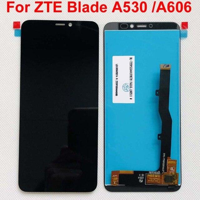 100% Оригинальный 5,45 Полный ЖК дисплей + фотография для ZTE Blade A530 / Blade A606 Черный; Новинка; 100% Протестировано