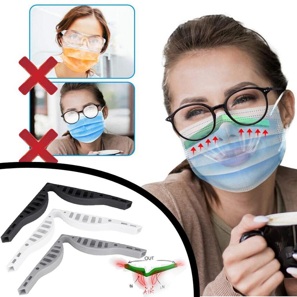 5 pçs óculos anti nevoeiro máscara nariz ponte aumenta a respiração do espaço sem problemas para máscara protetora nariz ponte mascarillas # st