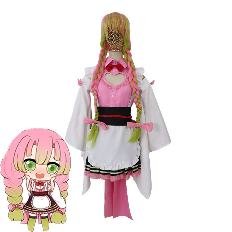 Japan Anime Demon Slayer Kimetsu No Yaiba Cosplay Costume Kanroji Mitsuri Halloween Cosplay Costume Maid Dress Special Discount 5453f Cicig Check out our mitsuri kanroji selection for the very best in unique or custom, handmade pieces from our prints shops. japan anime demon slayer kimetsu no