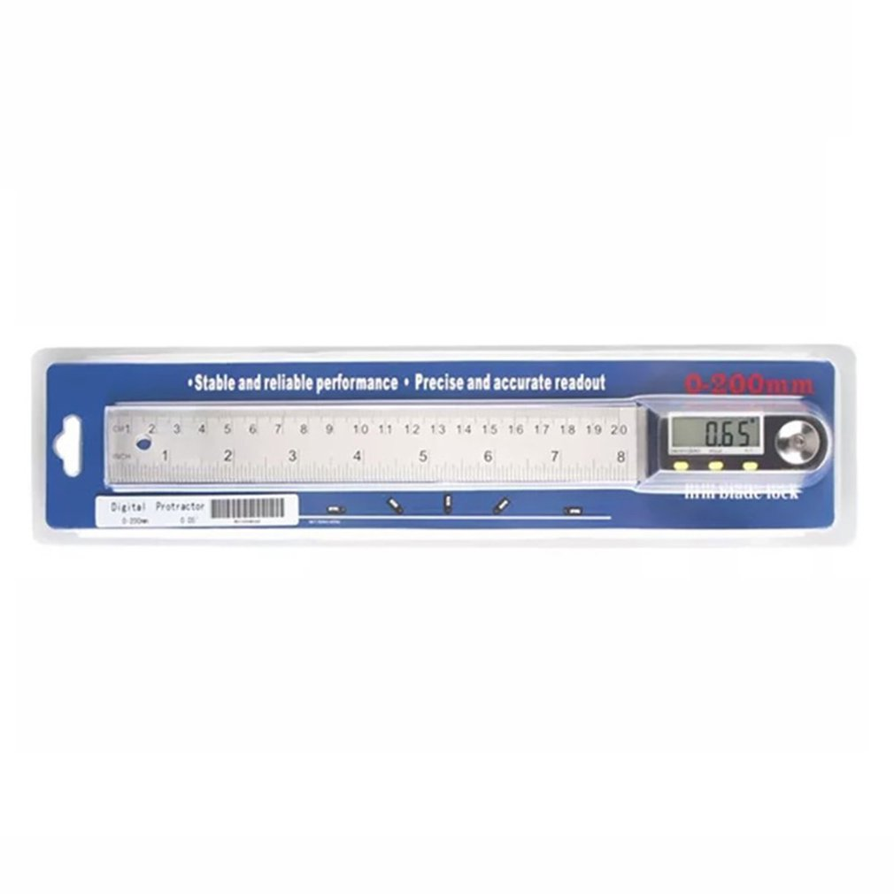 Digital Meter Angle Inclinometer Angle Digital Ruler Electronic Goniometer Conveyor Angle Finder Measuring Tool