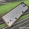 GK64 S Kit de teclado GK64 GK64S caja de madera CNC placa PCB con cable Bluetooth 2 vendidos