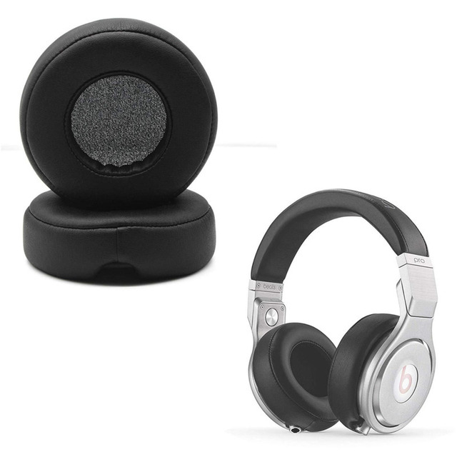 Earpad For Monster For Beats By Dr. Dre Pro Detox Headphone Replacement Ear Pad Memory Foam Protein Leather ForExtra Comfort Eh#