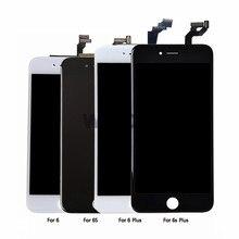 Aaa de nível aaa para iphone, substituição para iphone 6 6 plus 6s plus 7 8pluslcd 3d touch screen, digitalizador de montagem com tela para iphone 6 lcd