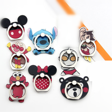 2020 Mobile Phone Holder Metal Finger Ring Holder Cute Cartoon Mouse Animal Phone Holder Phone Stand Support For All Phone