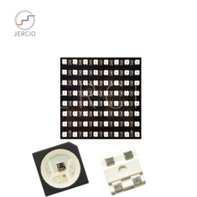 JERCIO pixel led module 8*8 DC5V WS2812B sk6812 Panel Screen  Pixels Digital Flexible Led Individually Addressable smd5050 2427