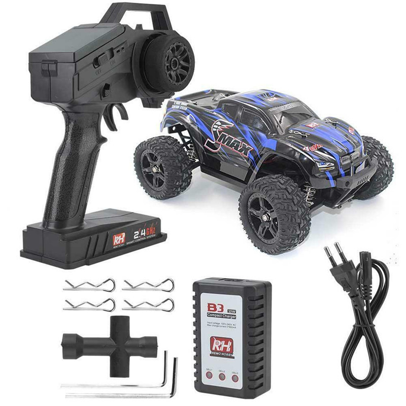 REMO 1635 RC Car 1:16 2.4G 4WD Radio Control Car Crawler Waterproof Brushless Off Road Car High Speed Big Foot Car